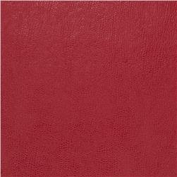 Fabricut 03343 Faux Leather Strawberry