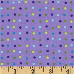 Moda Dot .Dot.Dash-! Mini Purple