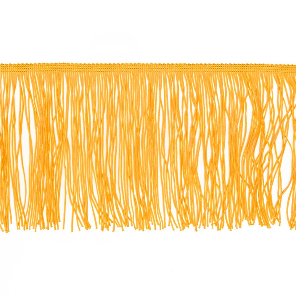 "6"" Chainette Fringe Trim Yellow Gold"