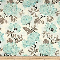 Joel Dewberry Birch Farm Hydrangea Egg Blue Fabric