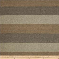 Designer Sparkle Hatchi Knit Stripe Tan Sand