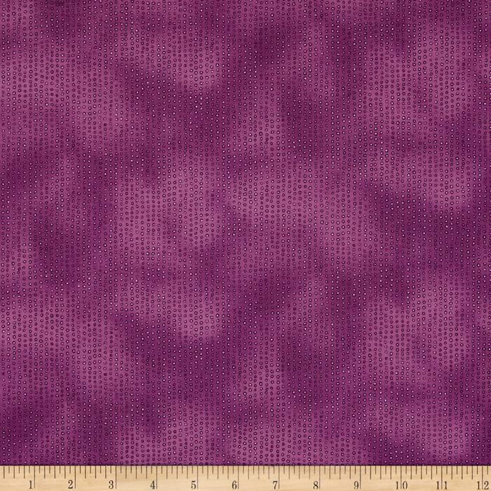 Rainbow Dreams Tonal Dot Dark Purple