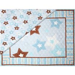 "Double Sided Quilted 36"" Star Panel Multi"