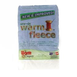 "Warm Fleece Sew-In 45"" x 1yd Pack"