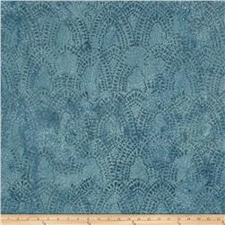 Indian Batik Arches Blue