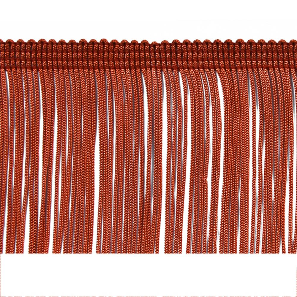 "2"" Chainette Fringe Trim Cranberry"
