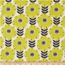 Michael Miller Pastel Pop Citron Grey Libby Citron