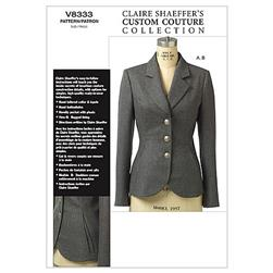 Vogue Misses'/Misses' Petite Jacket Pattern V8333 Size 0A0