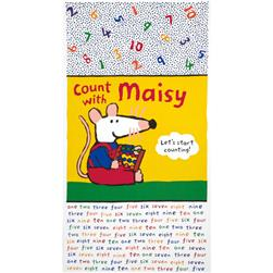 "Count with Maisy 24"" Panel Yellow"