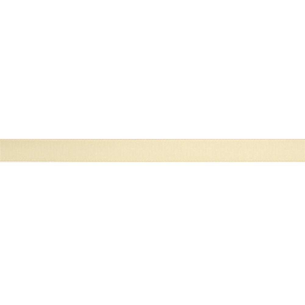 "5/8"" Grosgrain Solid Ribbon Cream"
