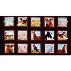 Down on the Farm Panel Multi