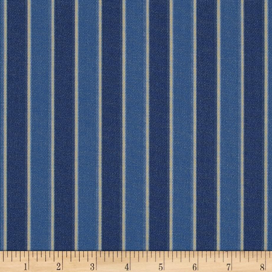 Nautica Indoor/Outdoor Patio Chair Stripe Atlantic Blue