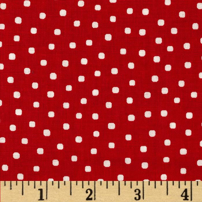 Penny Rose Paper Dolls Bakery Paper Dolls Dots Red