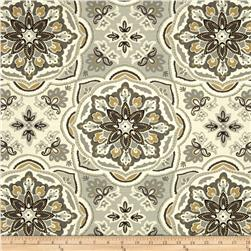 Waverly Tapestry Tile Shale Fabric