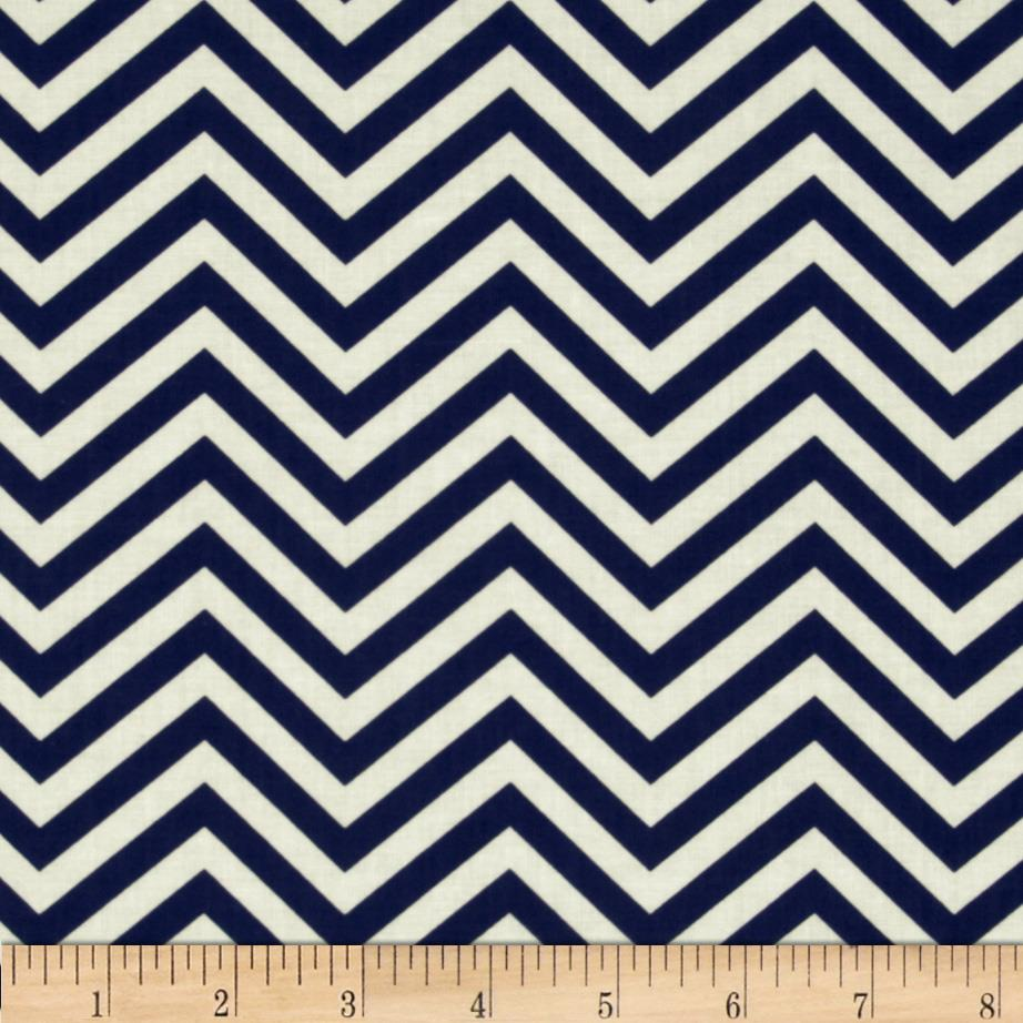In the Navy Ziggy Chevron Navy
