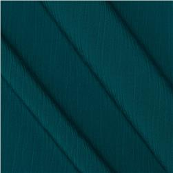 Lyric Wide Crinkle Polyester Shirting Bottle Green