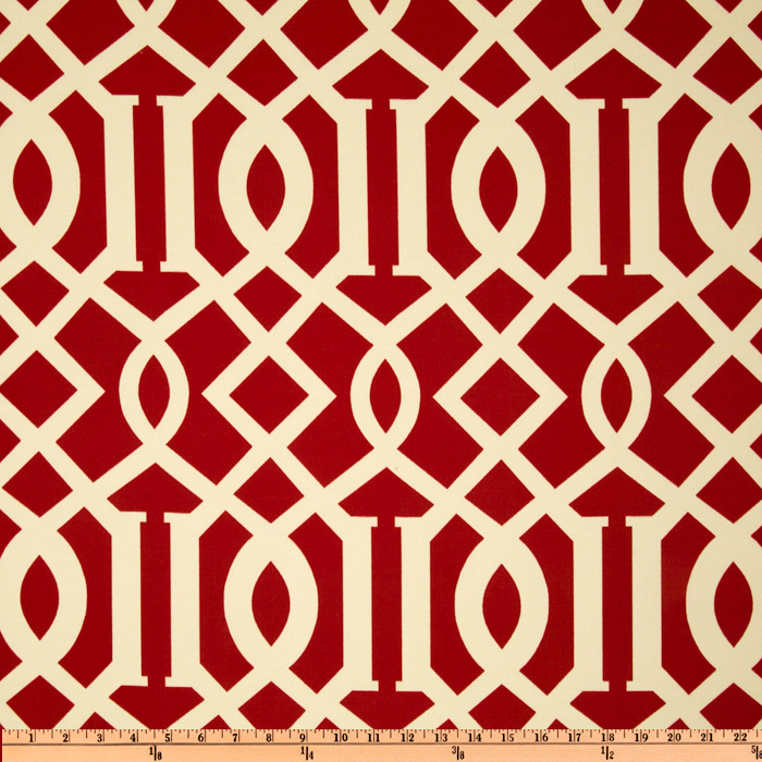Richloom Solarium Outdoor Kirkwood Cherry Home Decor Fabric