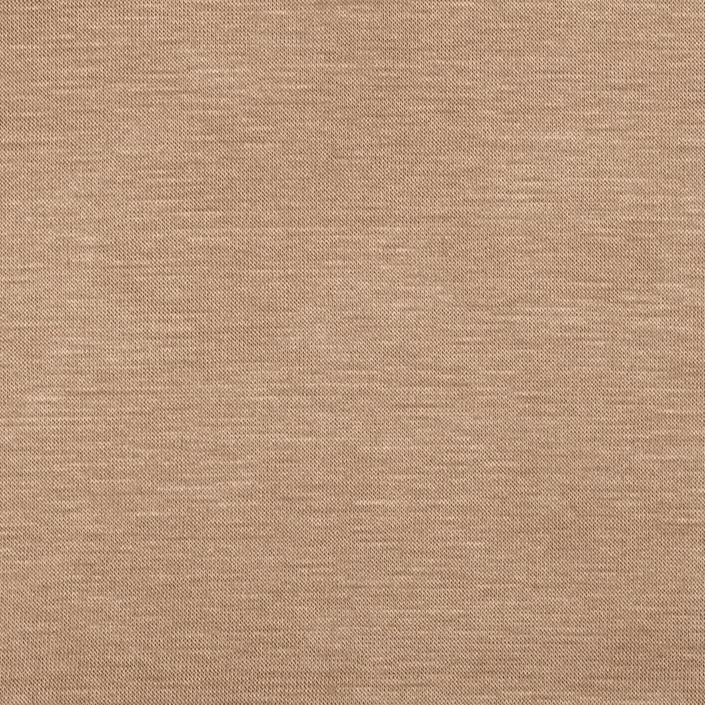 Stretch Rayon Jersey Knit Light Camel