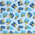 Millions Of Minions Minions & Names Toss Light Blue