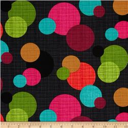 Michael Miller Hashmark In The Round Magenta Fabric