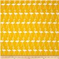 Premier Prints Flamingo Slub Corn Yellow