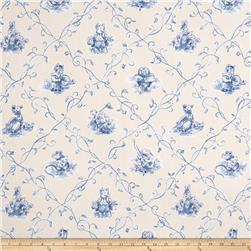 Fabricut Nursery Toile Cornflower