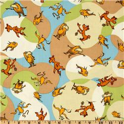 The Lorax Organic Truffala Forest Creatures Earth Fabric