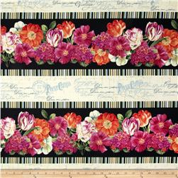 Garden View Repeating Stripe Multi