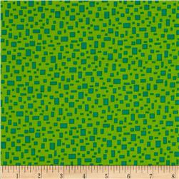 In Plain Sight Geometric Light Green/Green