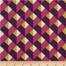 Joel Dewberry Bungalow Chevron Lavender Fabric