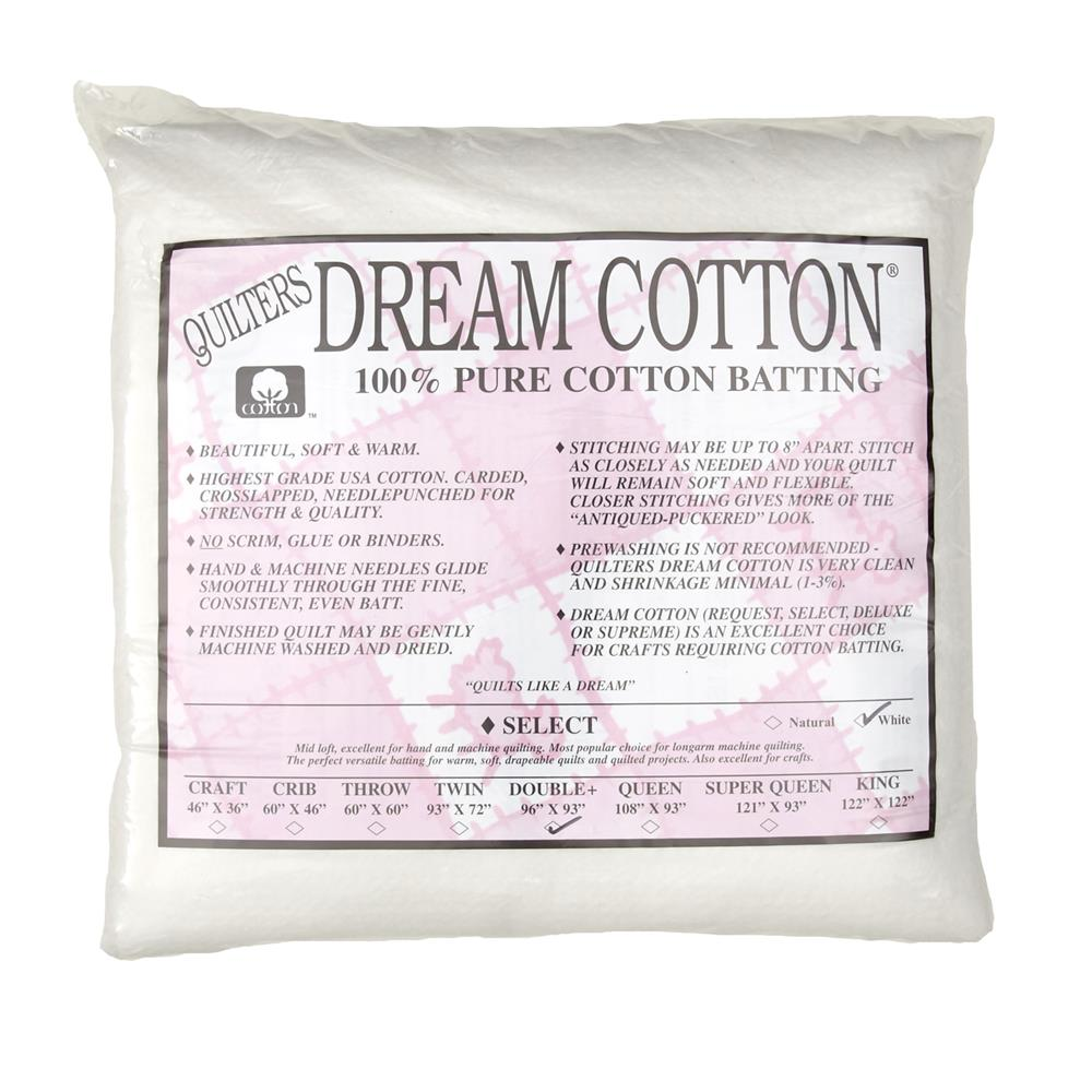 Quilter's Dream Natural Cotton White Select Batting (96