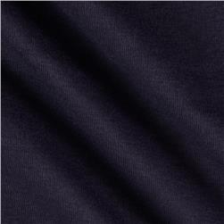 Soft Baby Rib Knit Eggplant Fabric