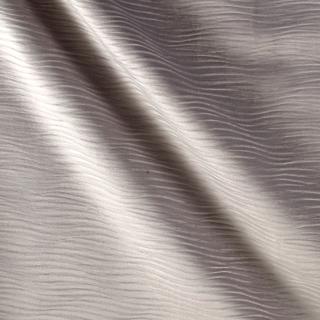Image of Velvet Textured Stream Steel Fabric
