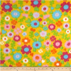 Fleece Print Clarissa Yellow