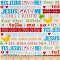 Jesus Loves Me 2 Words Multi