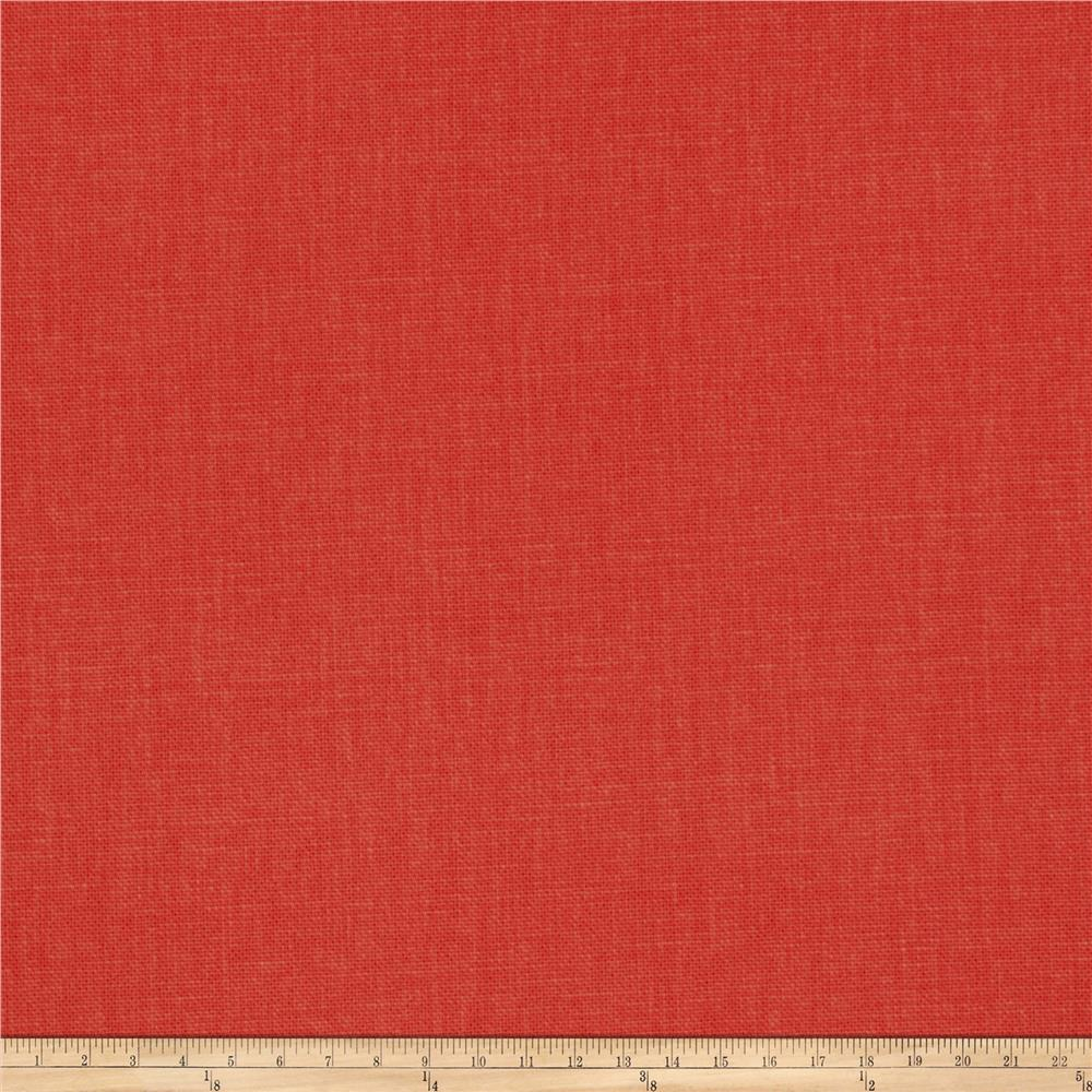 Fabricut Principal Brushed Cotton Canvas Coral - Discount ...
