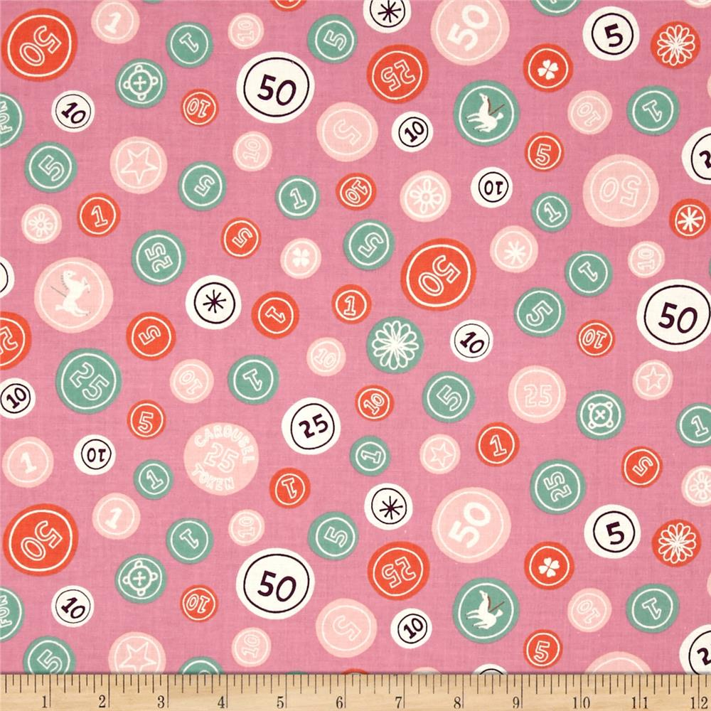 Cotton + Steel Penny Arcade Pocket Change Petunia