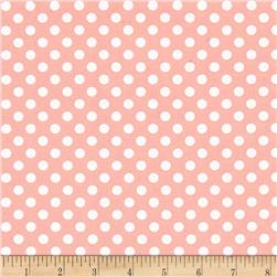 Pink Lady Dots Pink
