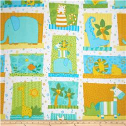 Jungle Buddies Flannel Sampler Multi