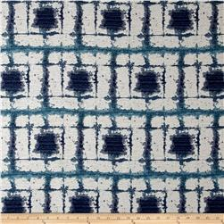 SoleWeave Outdoor Chenille Jacquard Point Judith Blues