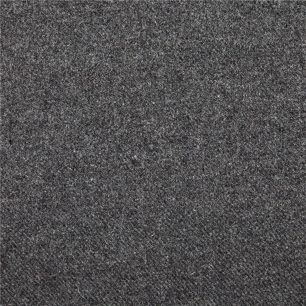 Washable Wool Solid Medium Grey Discount Designer Fabric