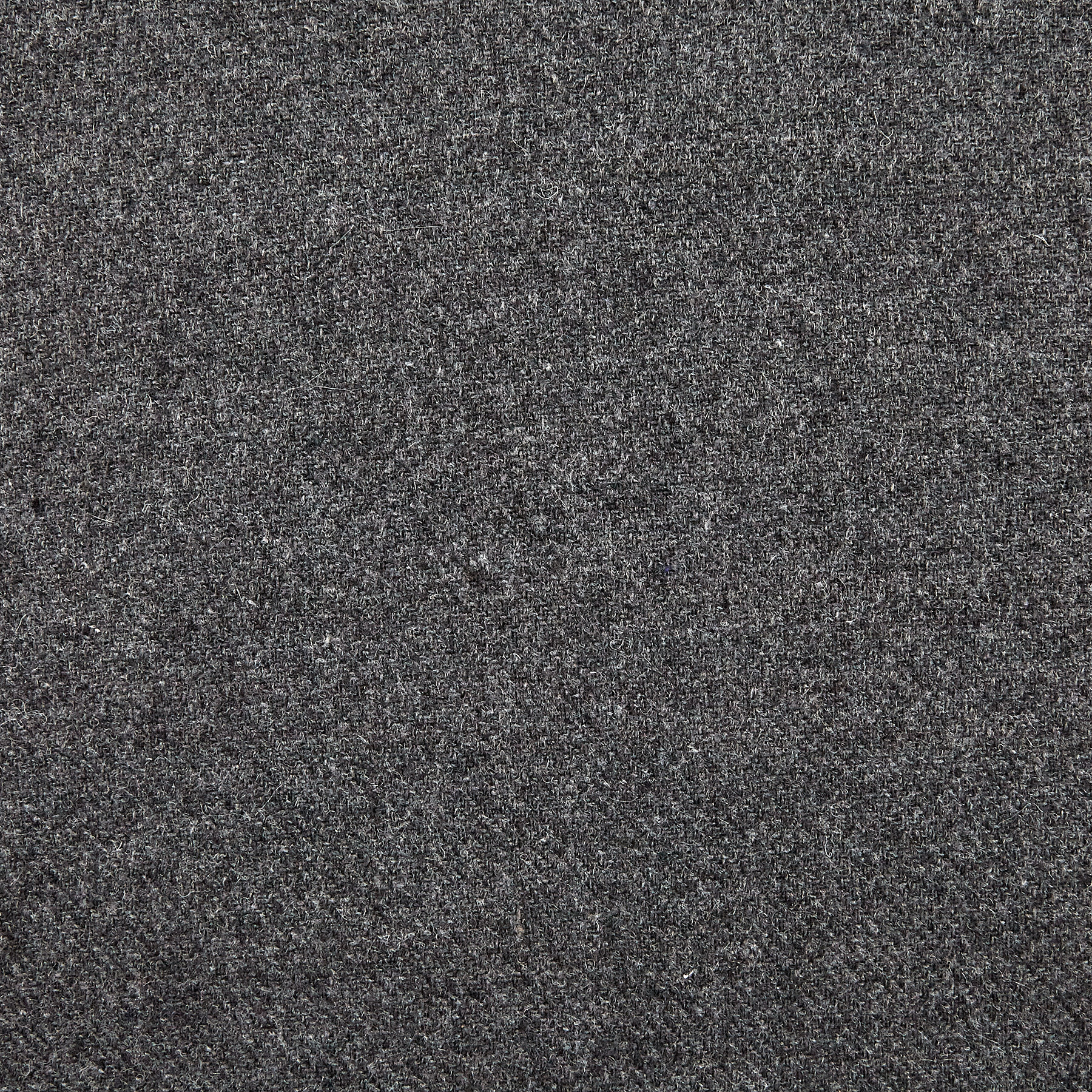 Washable Wool Solid Medium Grey Fabric by Spechler-Vogel in USA