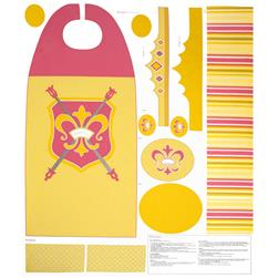 Riley Blake Princess Cape Panel Yellow