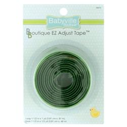 Babyville Boutique EZ Adjust Tape Green Fabric