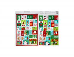 Dear Santa Advent Calendar Panel Multi