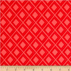 Moda Simply Colorful Ikat Red