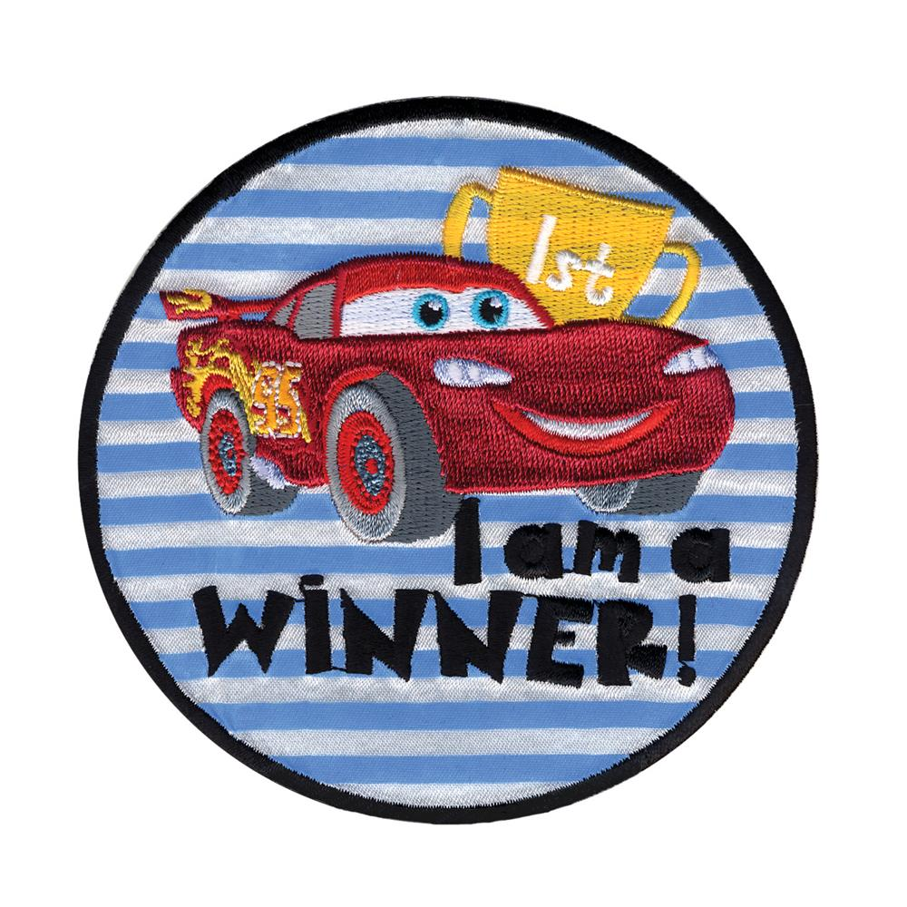 Disney Cars Iron On Applique I'm A Winner