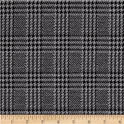 Double Knit Glen Plaid Grey