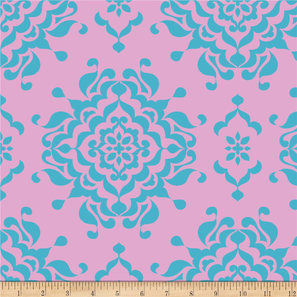 Riley Blake Splendor Damask Blue
