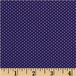Pin Dot Royal Purple